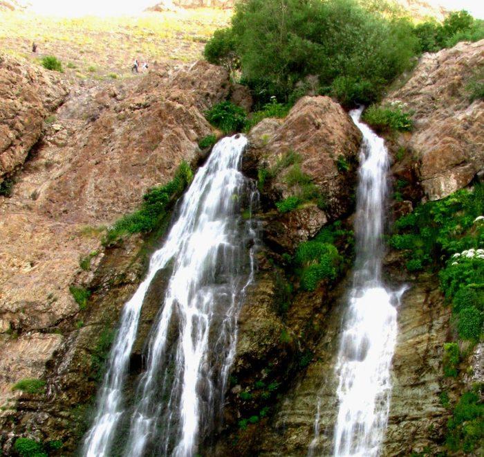 آبشار دوقلو تهران